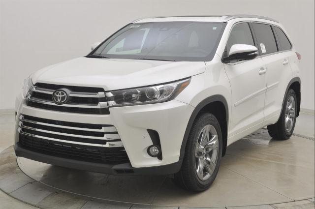Toyota Highlander Limited Platinum V6 2018