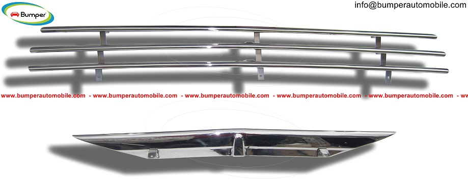Saab 92 - 92B Grille bumper (1949-1956) stainless steel