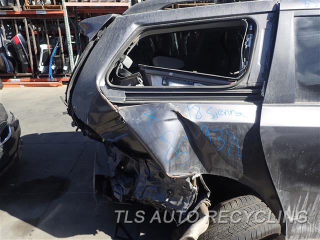 Used Parts for Toyota SIENNA - 2018 - 901.TO1Q18 - Stock# 8593YL