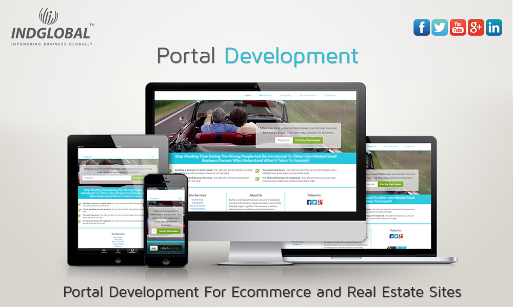 INDGLOBAL- Leading Award-winning Portal Development Company in Bangalore