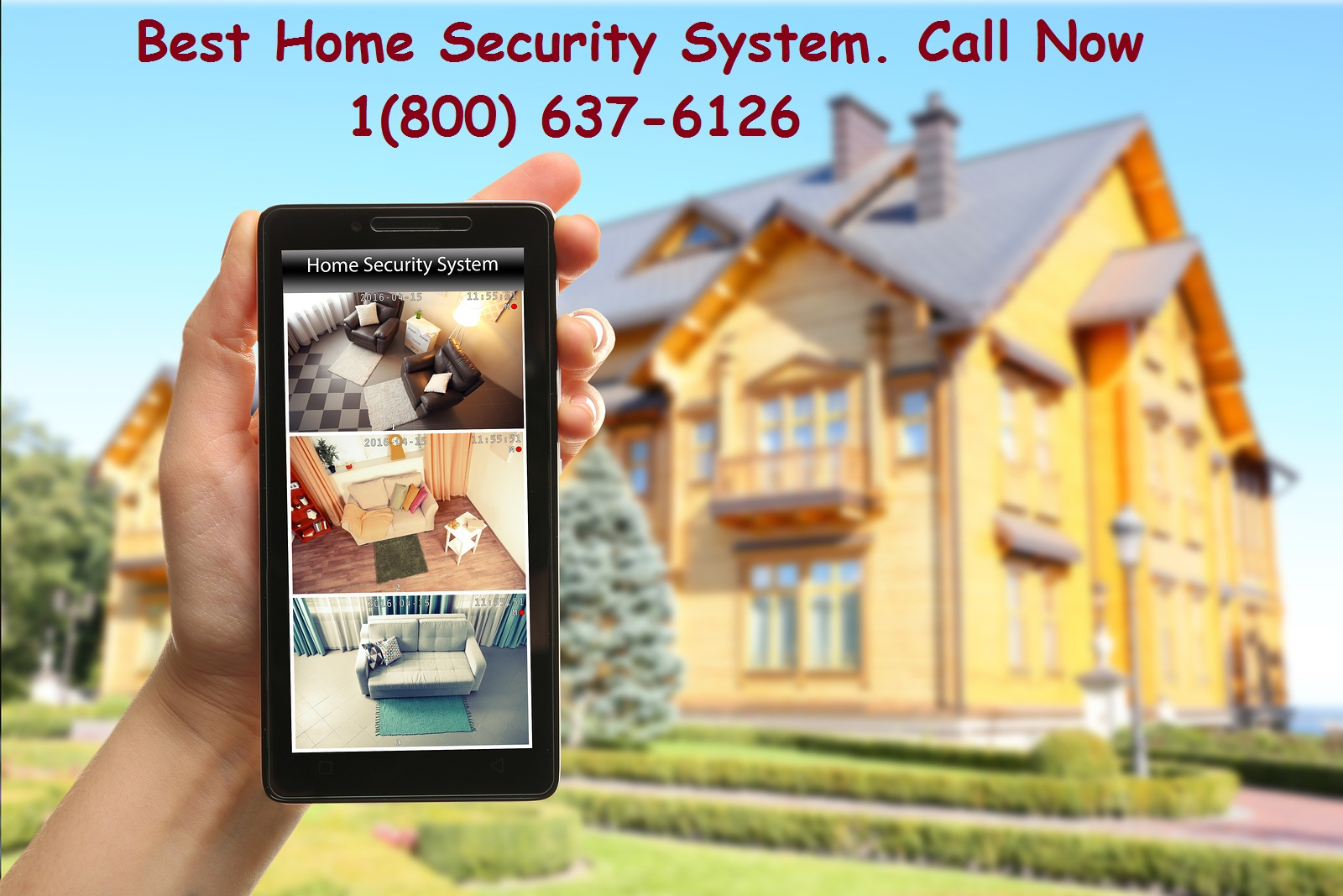 HOME SECURITY 1800-637-6126 LIMITED TIME OFFER FOR NEW CUSTOMERS