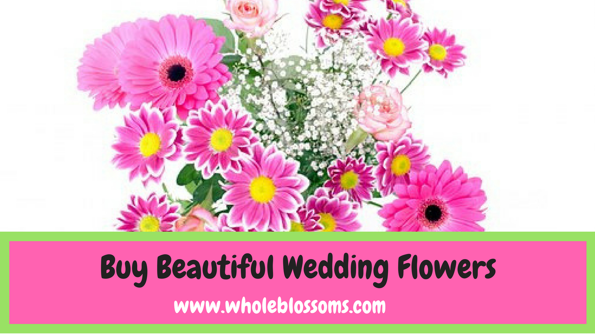 Whole Blossoms Provides Luxury Wedding Flowers Online