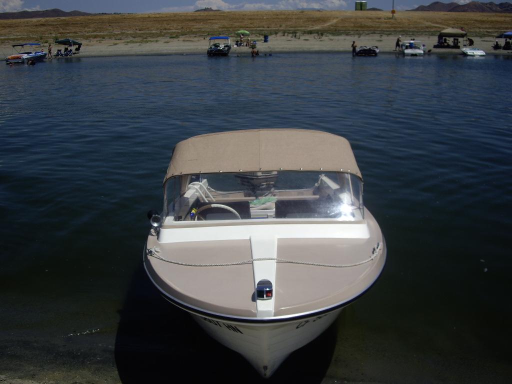 1964 Atlas Traveler 16' Runabout Boat w/trailer & 60 HP Outboard Motor