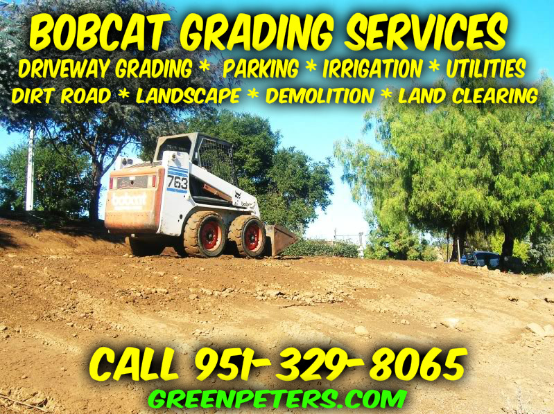 Affordable Bobcat Grading Services in Temecula - Call Now