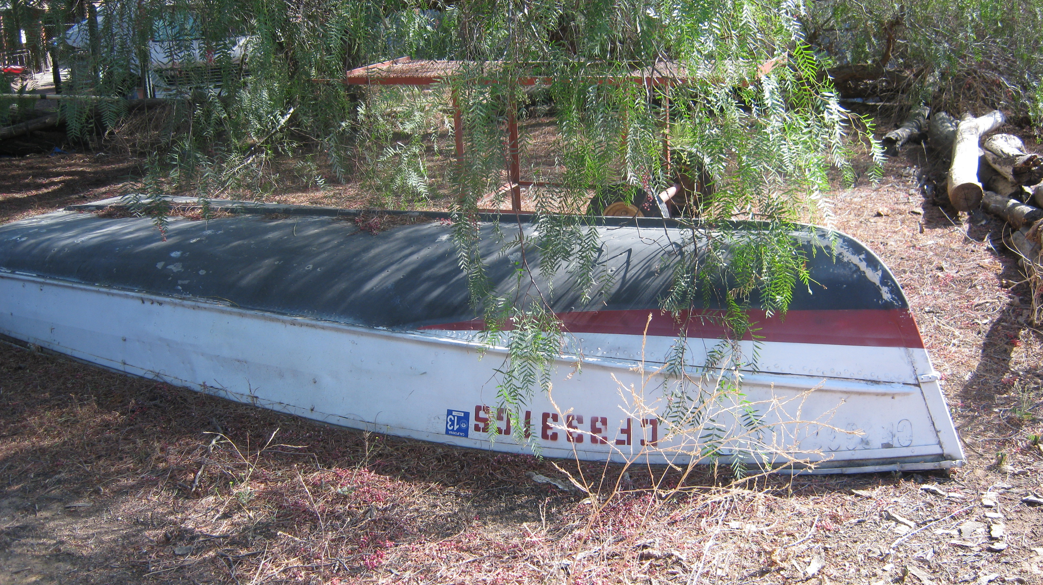 Rowing Boat and Trailer