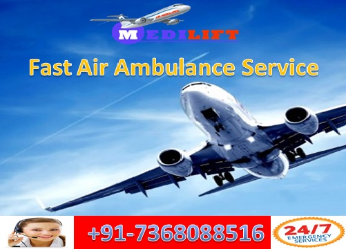 Take Fastest and Secure Air Ambulance Service in Delhi with ICU