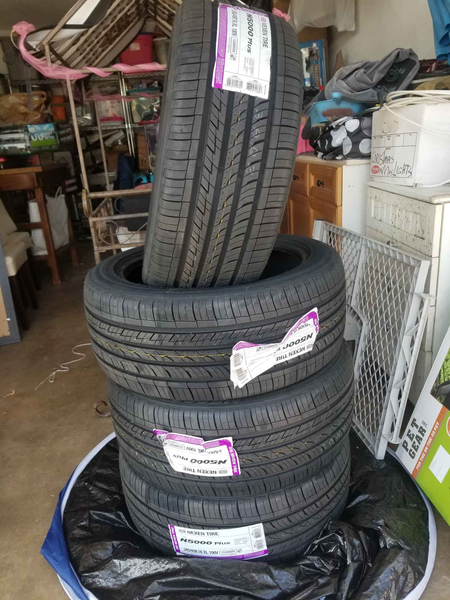 NEXXEN 245/45/R18 XL Tires (NEW/NOT USED)