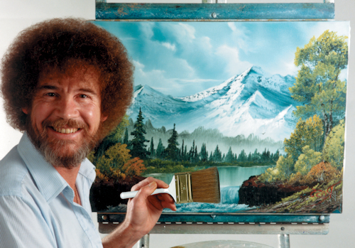 BOB ROSS PAINT NIGHT AND WORKSHOPS