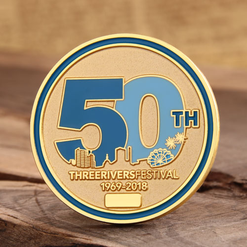 Three Rivers Festival Challenge Coins