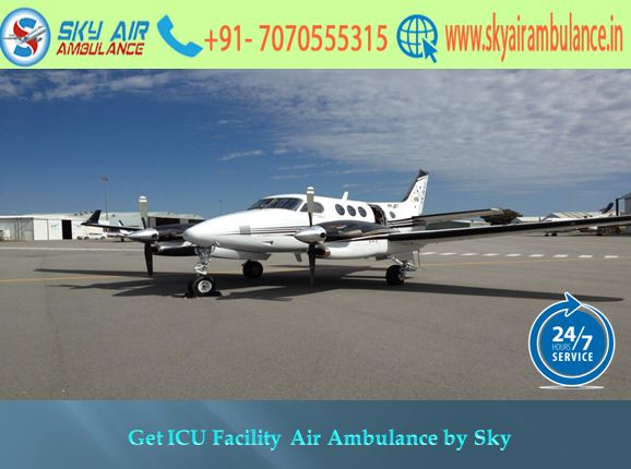 Safest and Comfy Shifting by Sky Air Ambulance Service in Nagpur