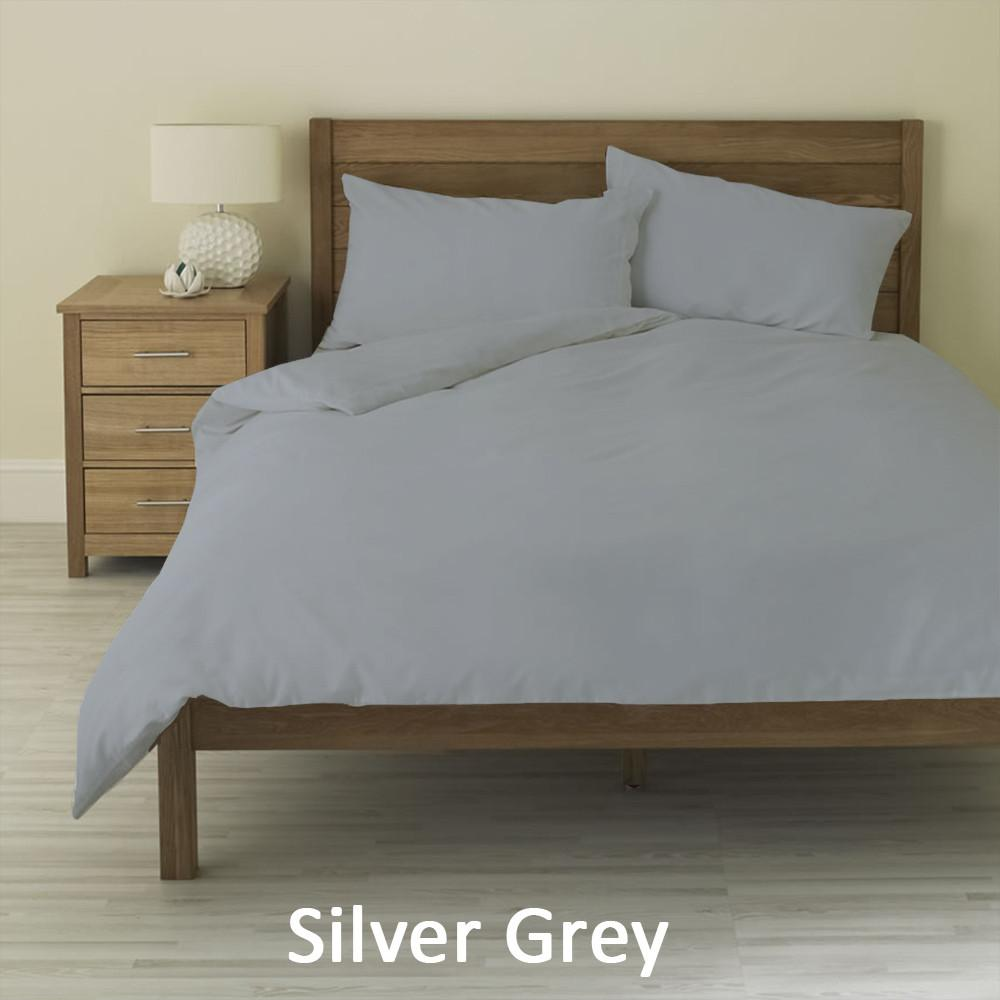 Light Grey Duvet Cover - AanyaLinen