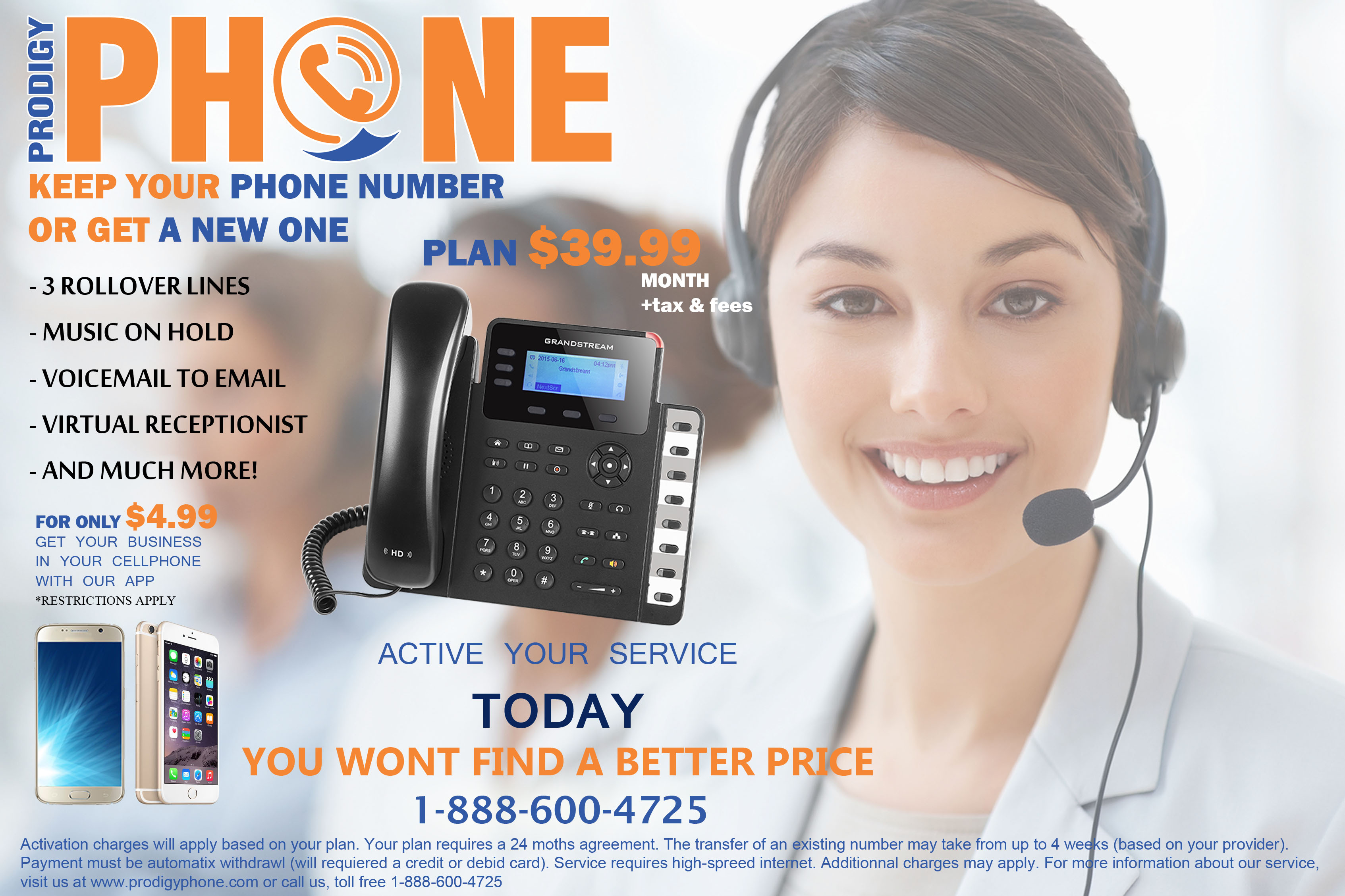 Telephone line for companies in Houston