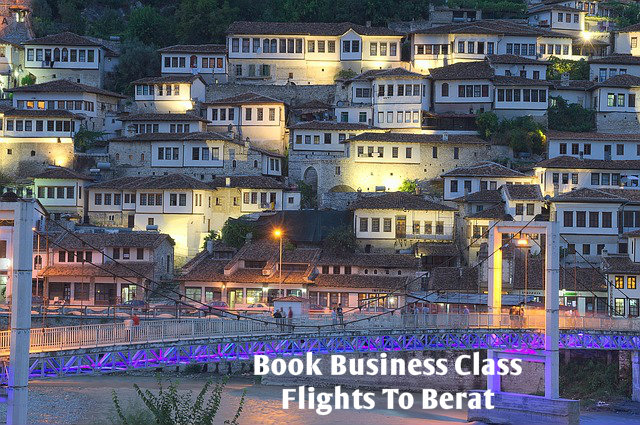 Book Business Class Flights To Berat I 8009869456