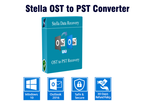 How to Convert OST to PST via Stella OST to PST Converter