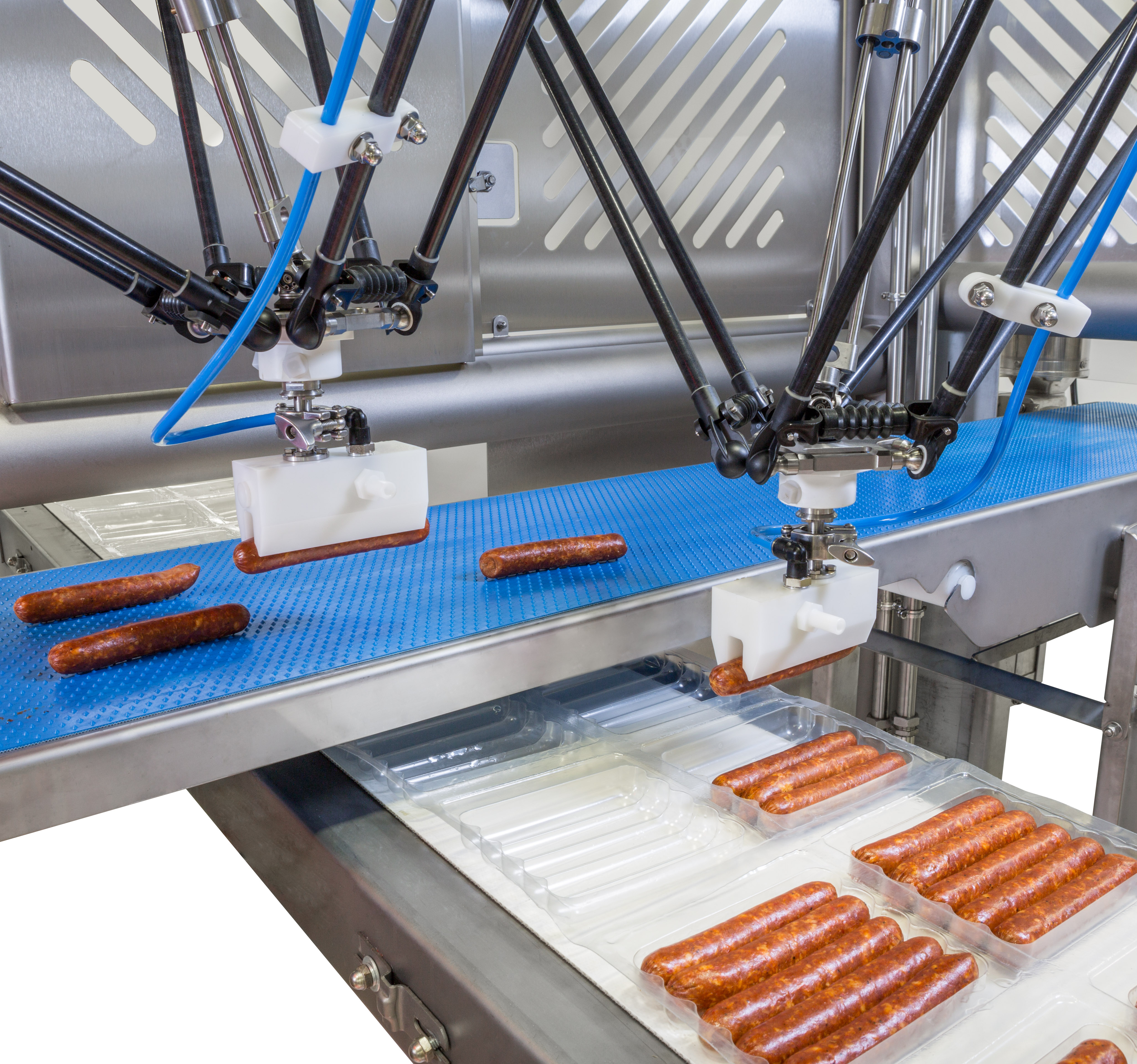 Pick and Place of Robots and Tray Packing Equipment