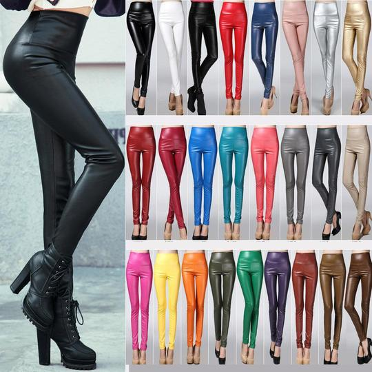 ​25 Colors Available Leather Leggings​