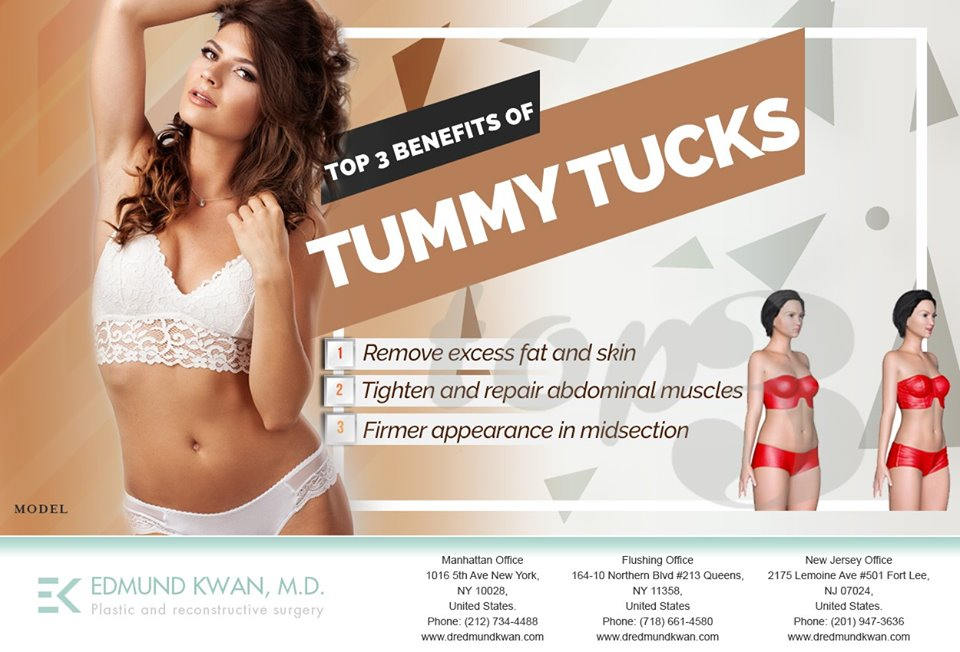 Tummy Tuck surgery Manhattan Near To Me - Dr. Edmund Kwan