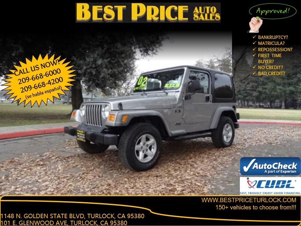 2002 Jeep Wrangler X Turlock