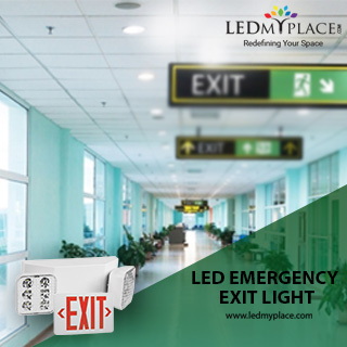 Buy These LED Emergency Exit Lights with a Longer Lifespan as Compared to  Filament Lamps