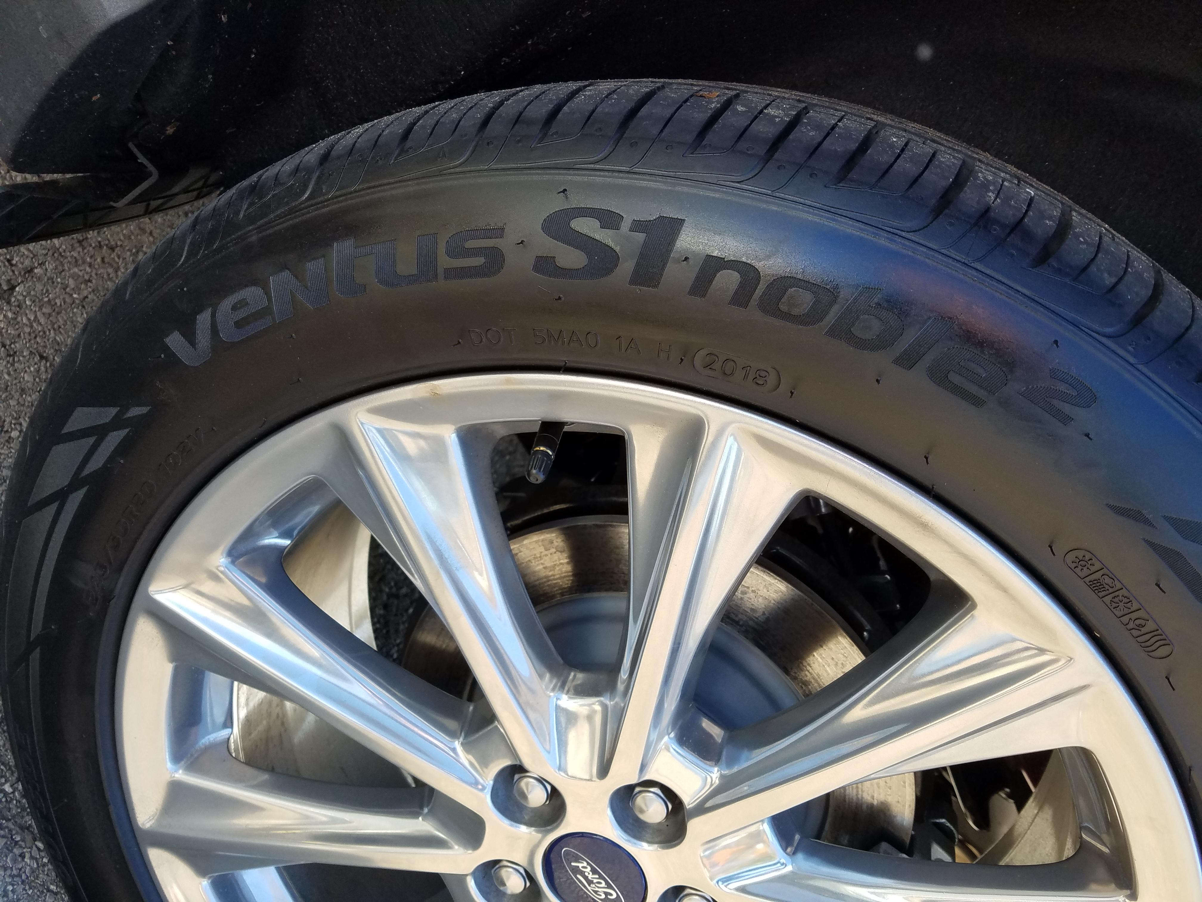 4 New Hankook VENTUS S1 NOBLE2 - SIZE: 245/50R20 - $600