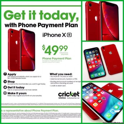 ONLY $49 DOWN GETS U THAT HIGH-END PHONE U ALWAYS WANTED TODAY @ CRICKET TAYLOR!!