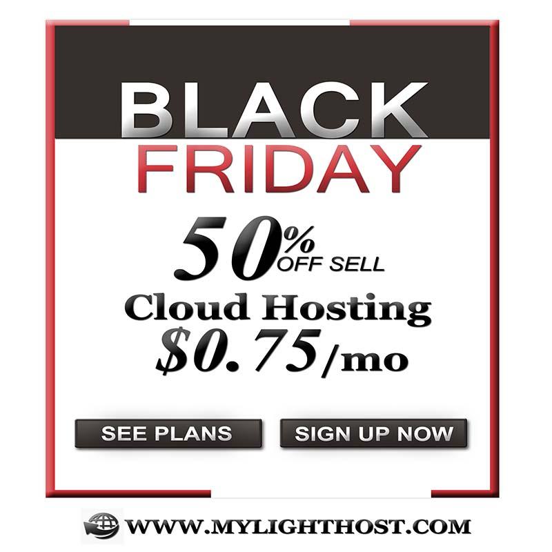 Big Black Friday Sale 2018.