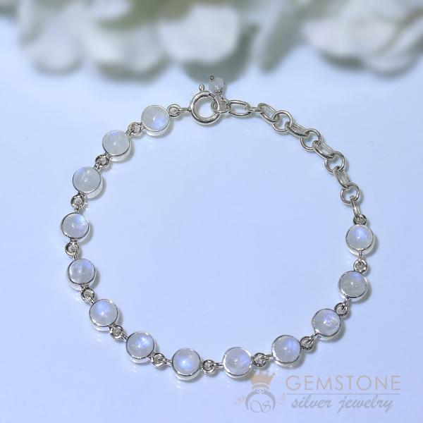 Moonstone Bracelet-Dawn To Dusk