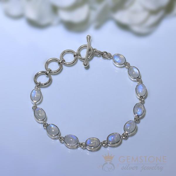 Moonstone Bracelet-Entrancing Adonis