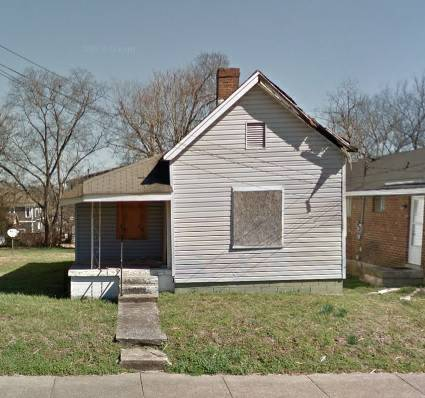2 bedroom 1 bath fixer upper house in Nashville Tennessee!