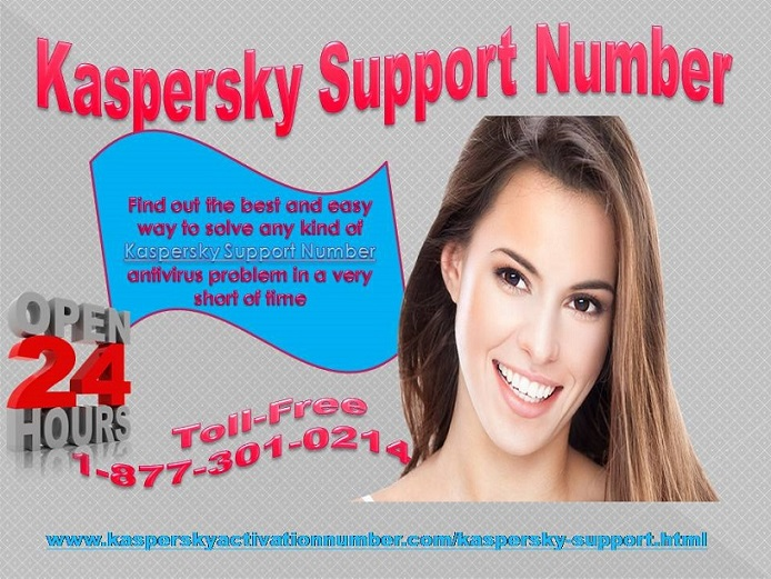 Kaspersky Support Number is the perfect Answer 1-877-301-0214 these threats.