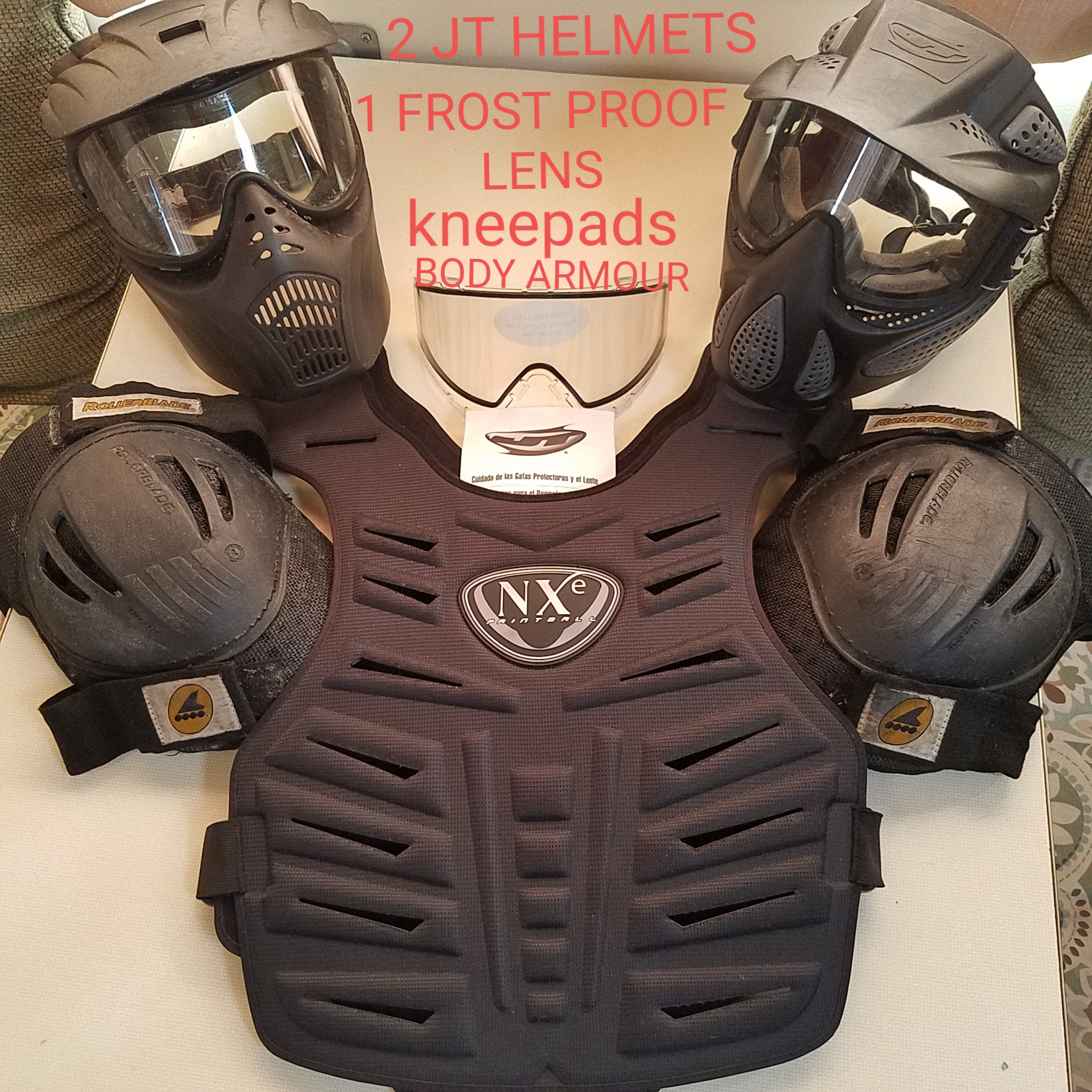 OVER $600.00 worth of PAINTBALL GEAR for ONLY $200.00