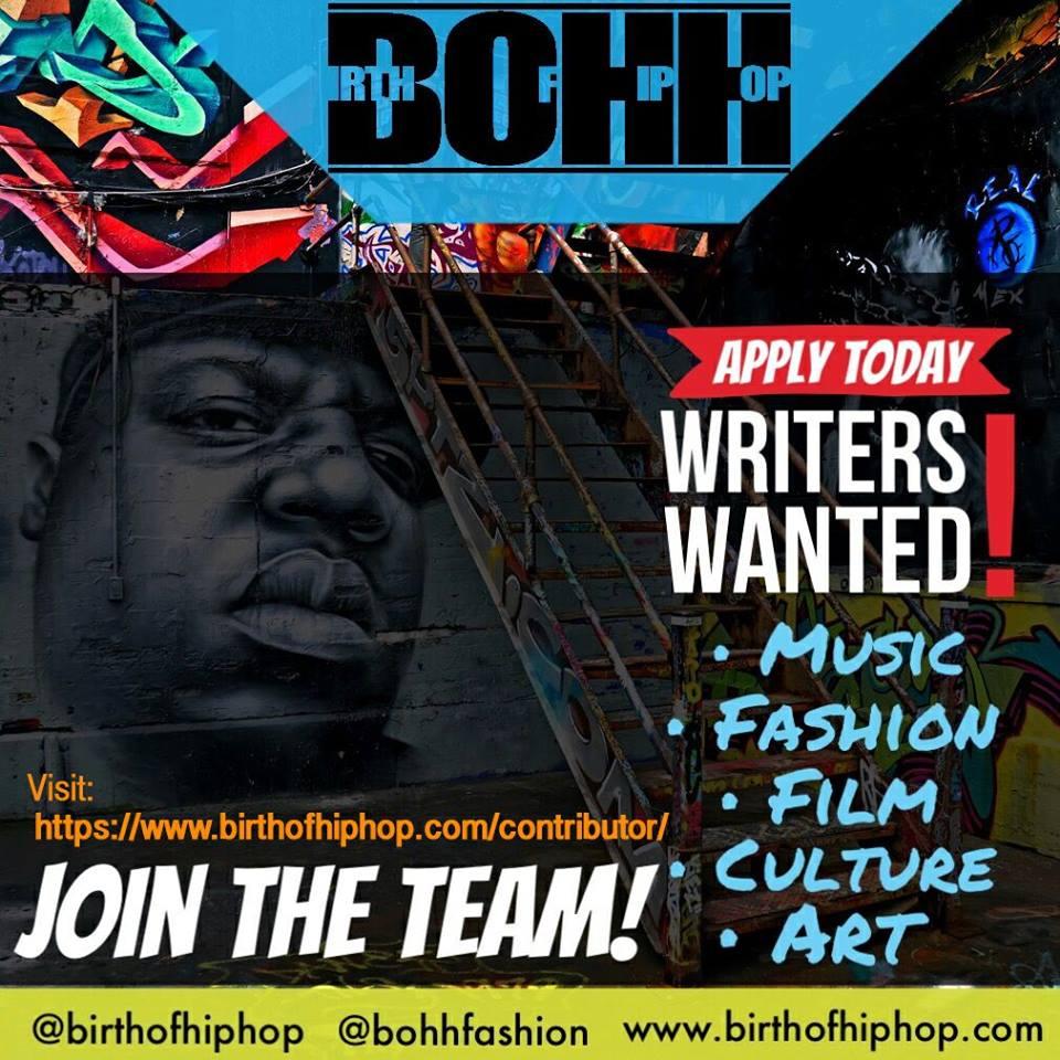 Become a Hip Hop Contributor Today