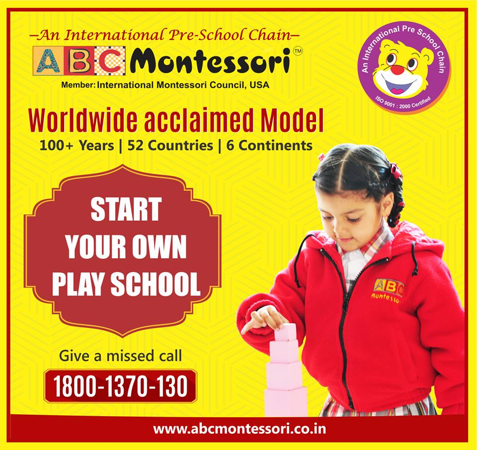 Best Play School Franchise in India
