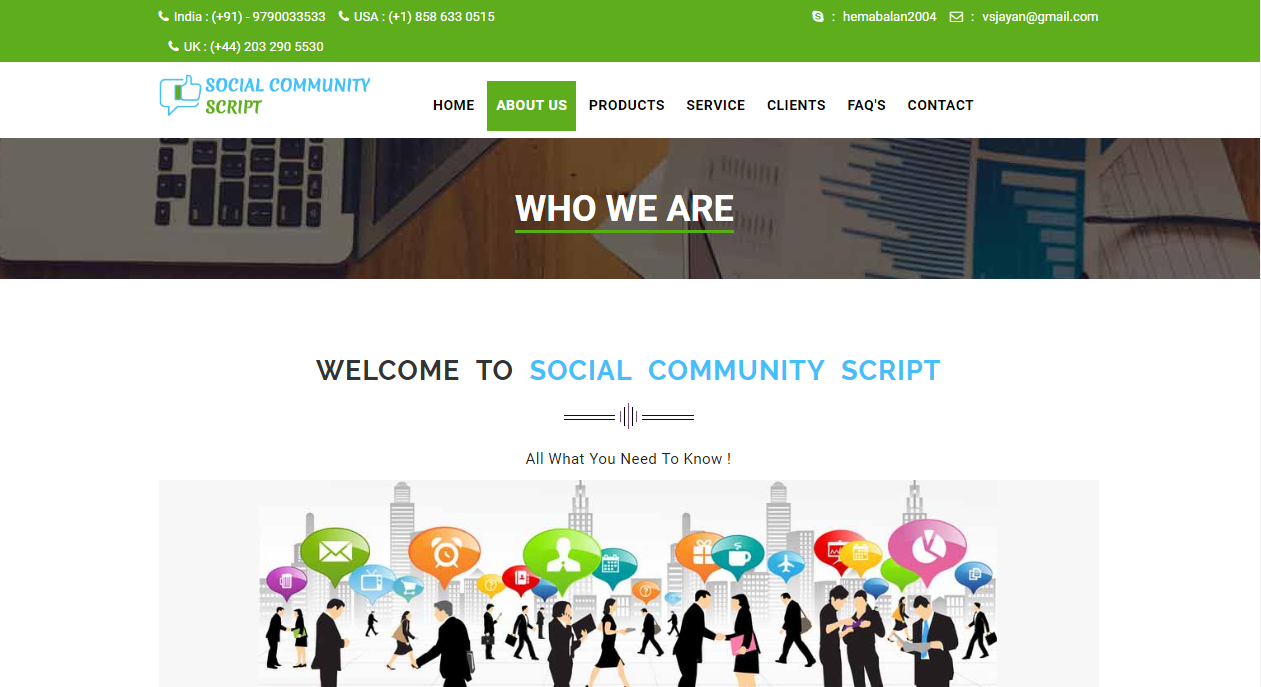 Social Networking Website Script - Social Media Platform Script
