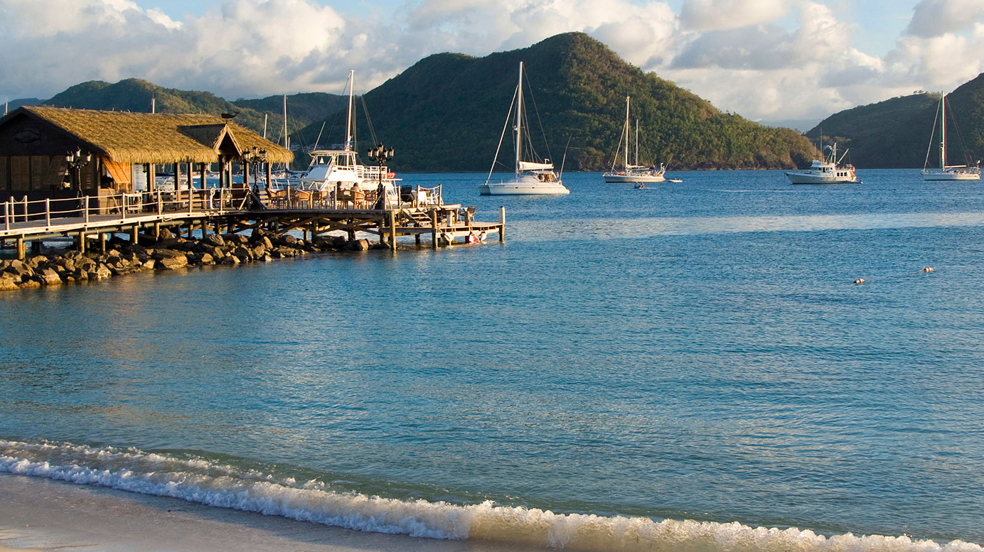 Cheap flights to St Lucia from London Gatwick