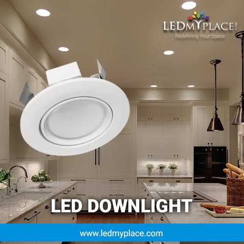 LED Downlight A Way To Having a Relaxed Ambience In Homes & Offices