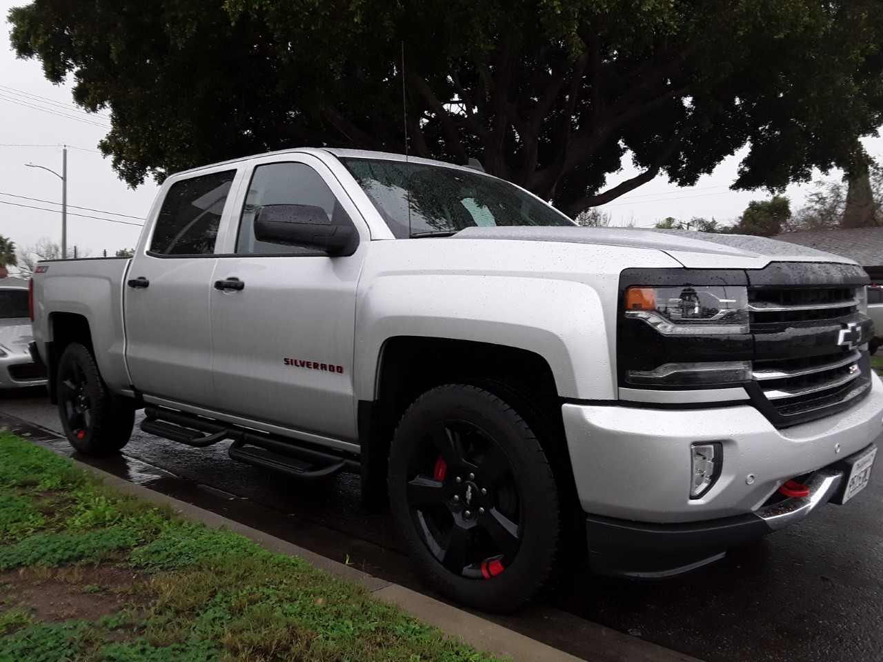 2018 CHEVROLET SILVERADO Z71 LTZ RED LINE EDITION