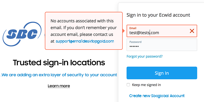 Reset sbcglobal Email Password: Troubleshooting
