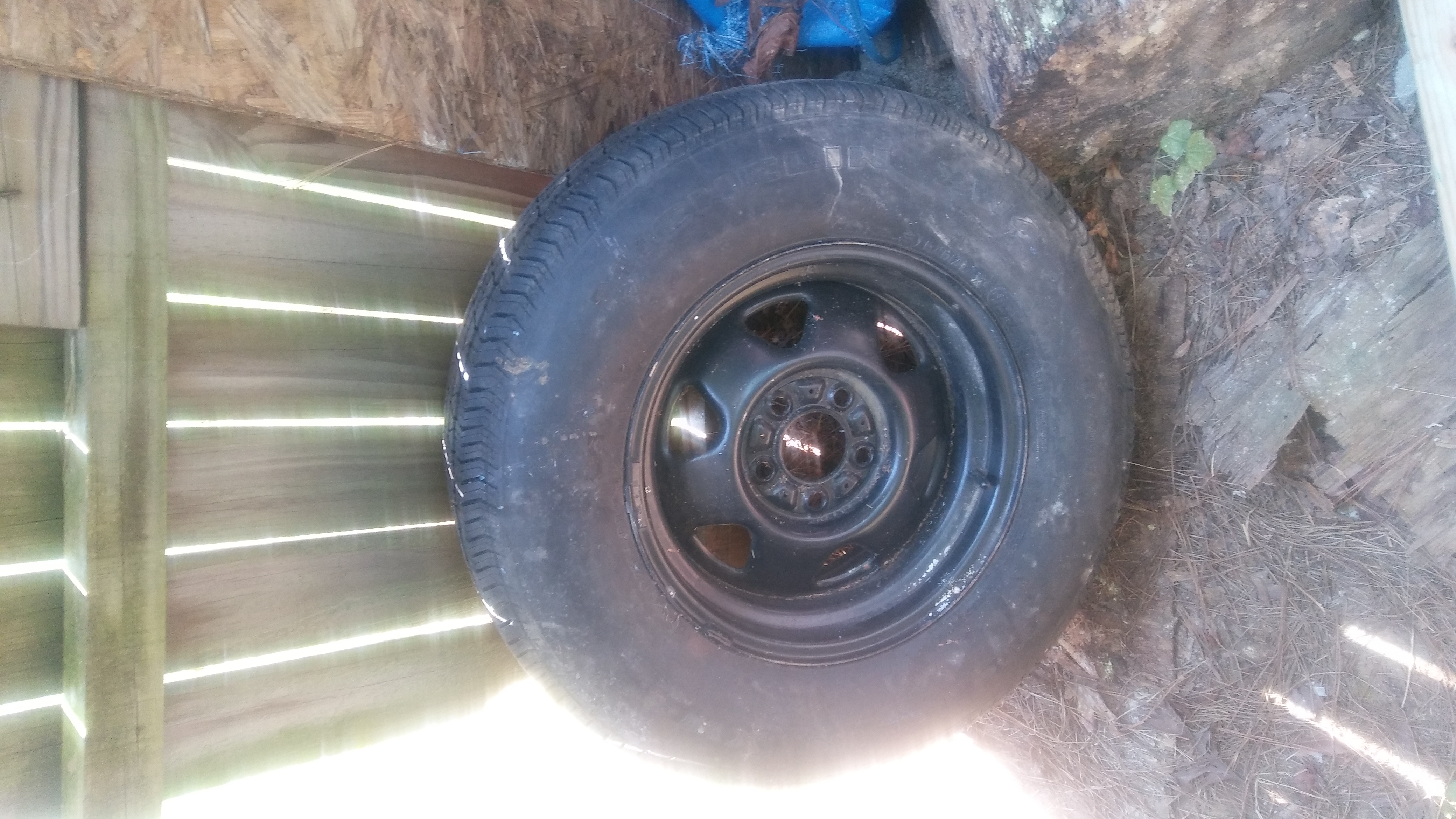 Spare 15 inch Wheel and Tire