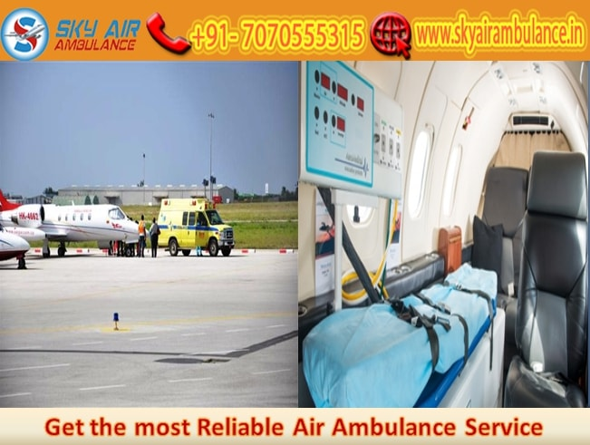 Pick Sky Air Ambulance Service in Bhopal on a low Budget