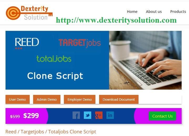 Jobs recruitment script  | Target Jobs php script