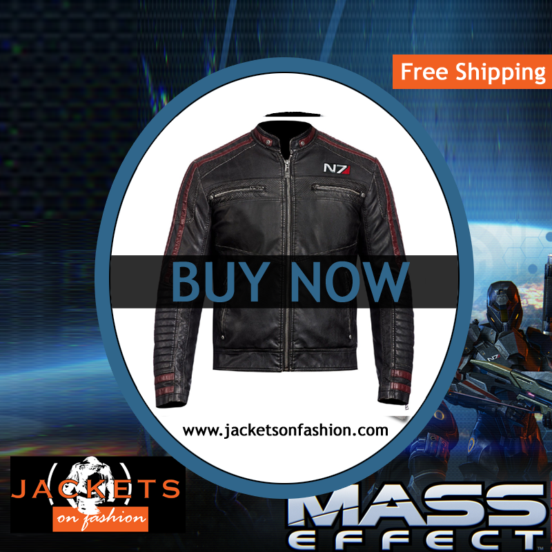 N7 LEATHER JACKET MASS EFFECT  | U.S