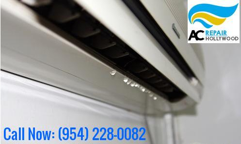 Avoid Leakage Issues with AC Leaking Water Hollywood