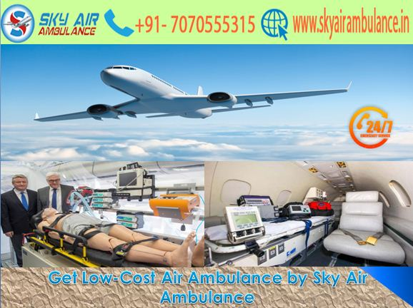 Get ICU Aircraft with Credible Shifting from Raipur by Sky