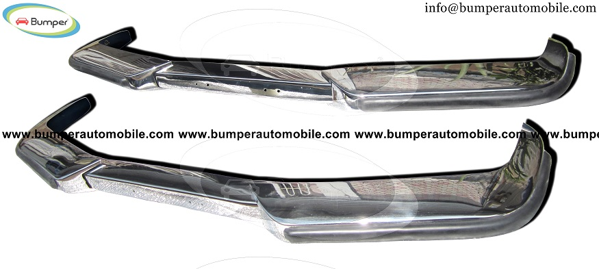 Volvo P1800  bumper kit (1963-1973) stainless steel