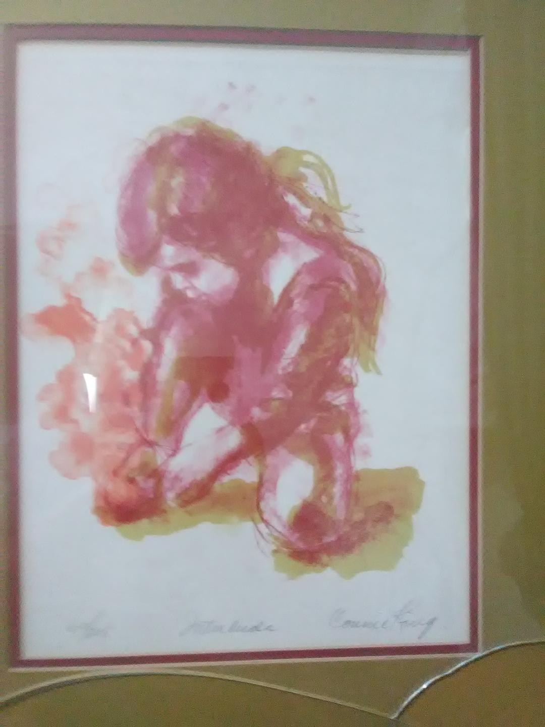 "Connie Kings' Limited-Edition Lithograph ""Interlude"""