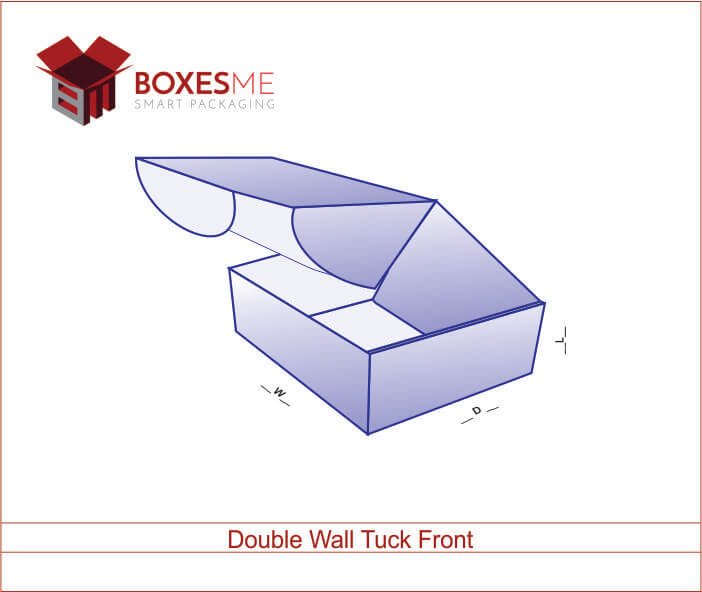 Fully Utilize of Double Wall Tuck Front Box To Enhance Your Business