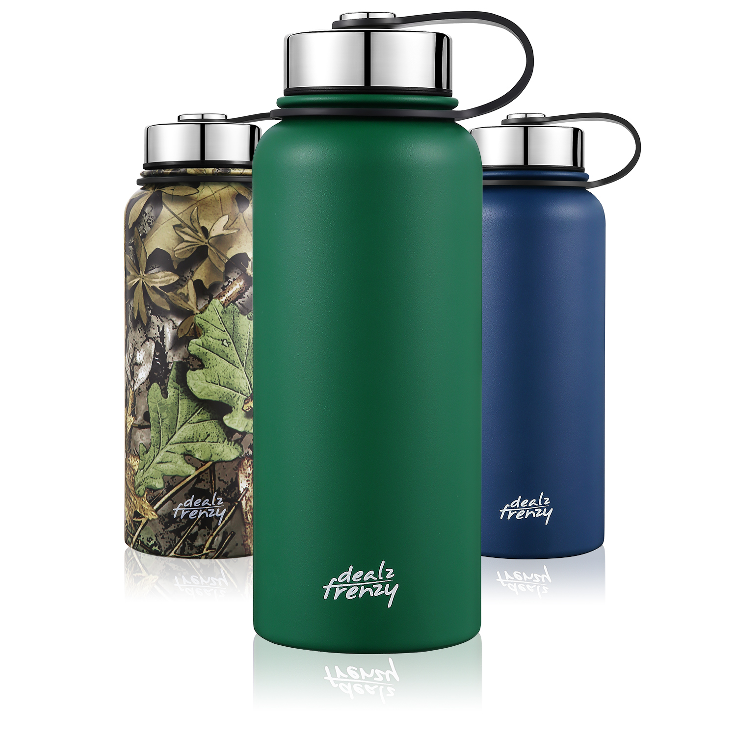 3a2e81b0434 Holiday deals! Double Wall Stainless Steel Wide Mouth Coffee Thermos Cups