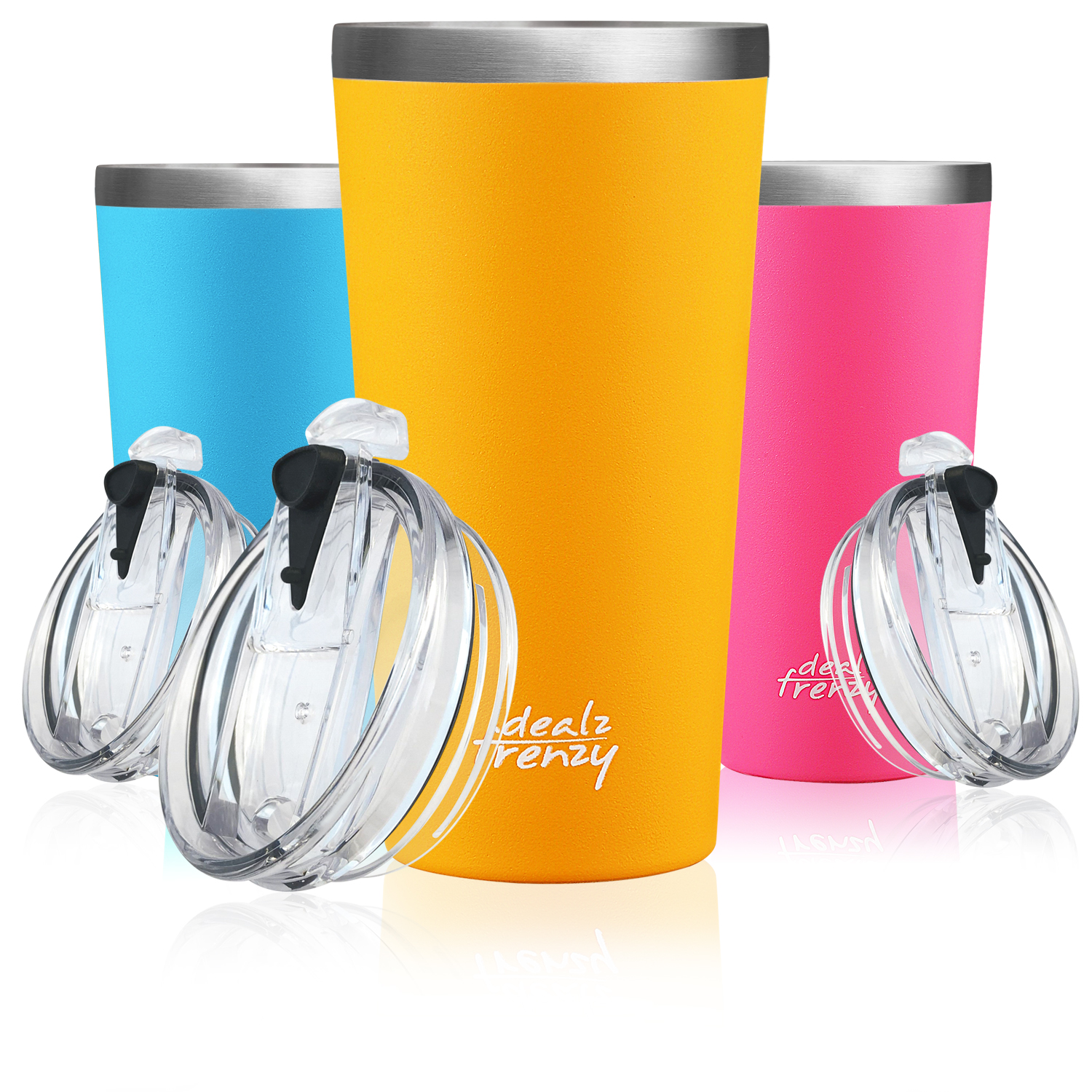 25dd7bddfc9 Double Wall Stainless Steel Wide Mouth Coffee Thermos Cups Holiday deals!