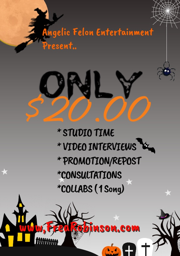 $20 Studio Time - $20 Video Interviews - AND MORE !!!